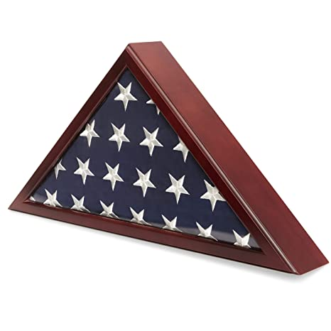 Amazon.com: Juvale American Flag Case for Veteran Burial ...