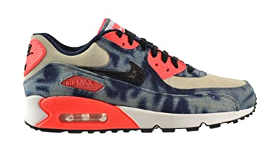 hot sale online 579f0 aca03 Nike Air Max 90 Denim QS Men's Shoes Midnight Navy/Black-White-Infrared