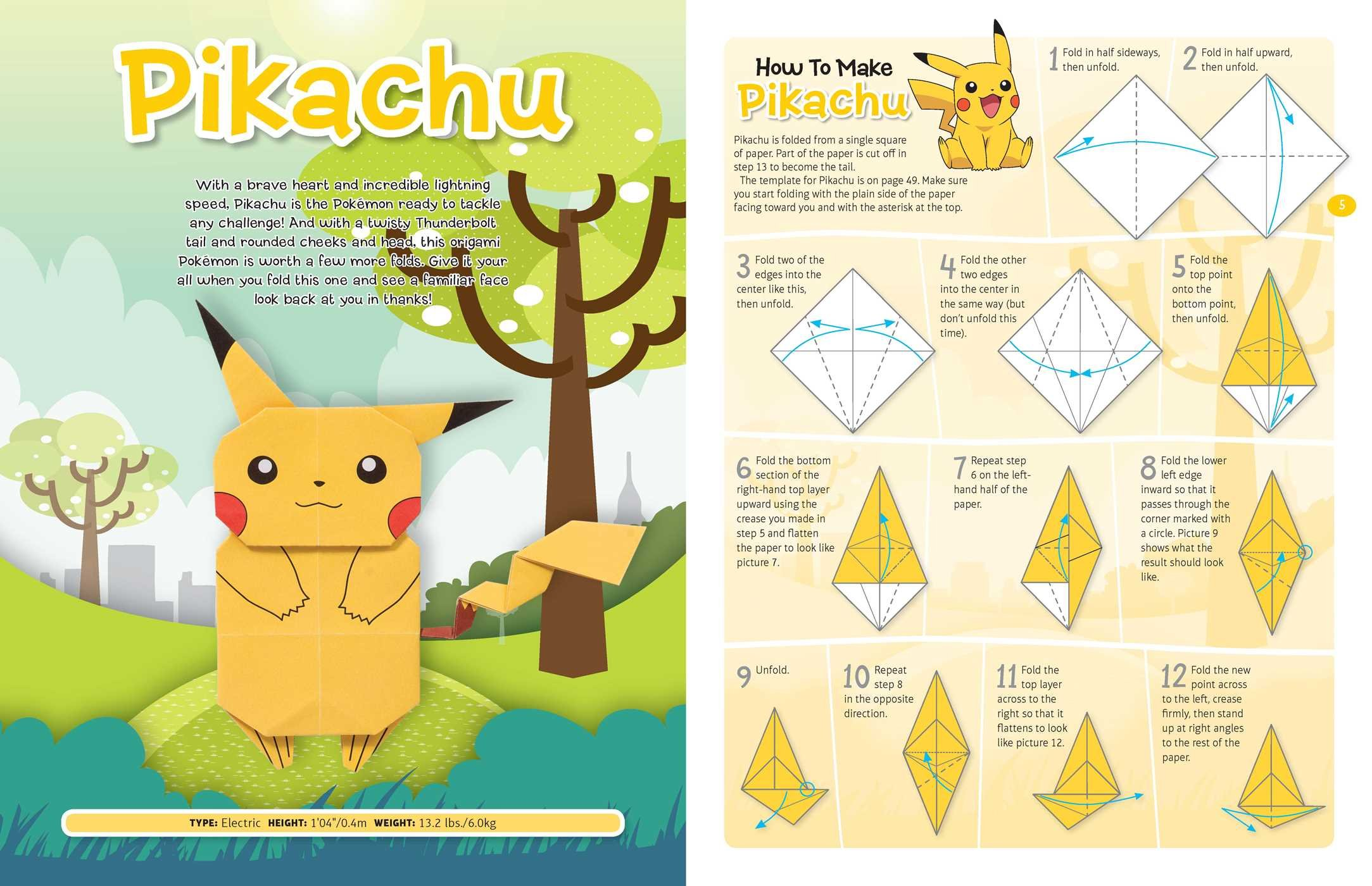 Buy Pokemon Origami Fold Your Own Book Online At Low Prices In India