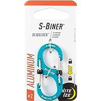 Nite Ize S-Biner Slidelock Aluminum #2-Blue