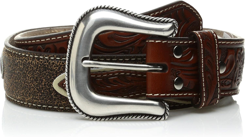 Nocona Boys Cowboy Prayer Buckle Belt