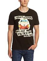 Logoshirt Unisex T-Shirt Ts Vintage Sp-cartman Thinking
