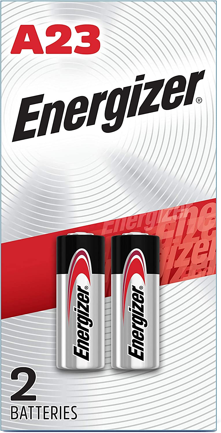Energizer Alkaline Batteries A23 (2 Battery Count) - Packaging May Vary