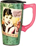 Spoontiques Audrey Tiffany Travel Mug, Toy, Green