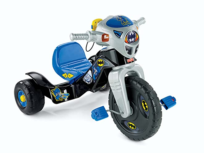 Fisher-Price W9981 DC Super Friends Batman Lights And Sounds Trike