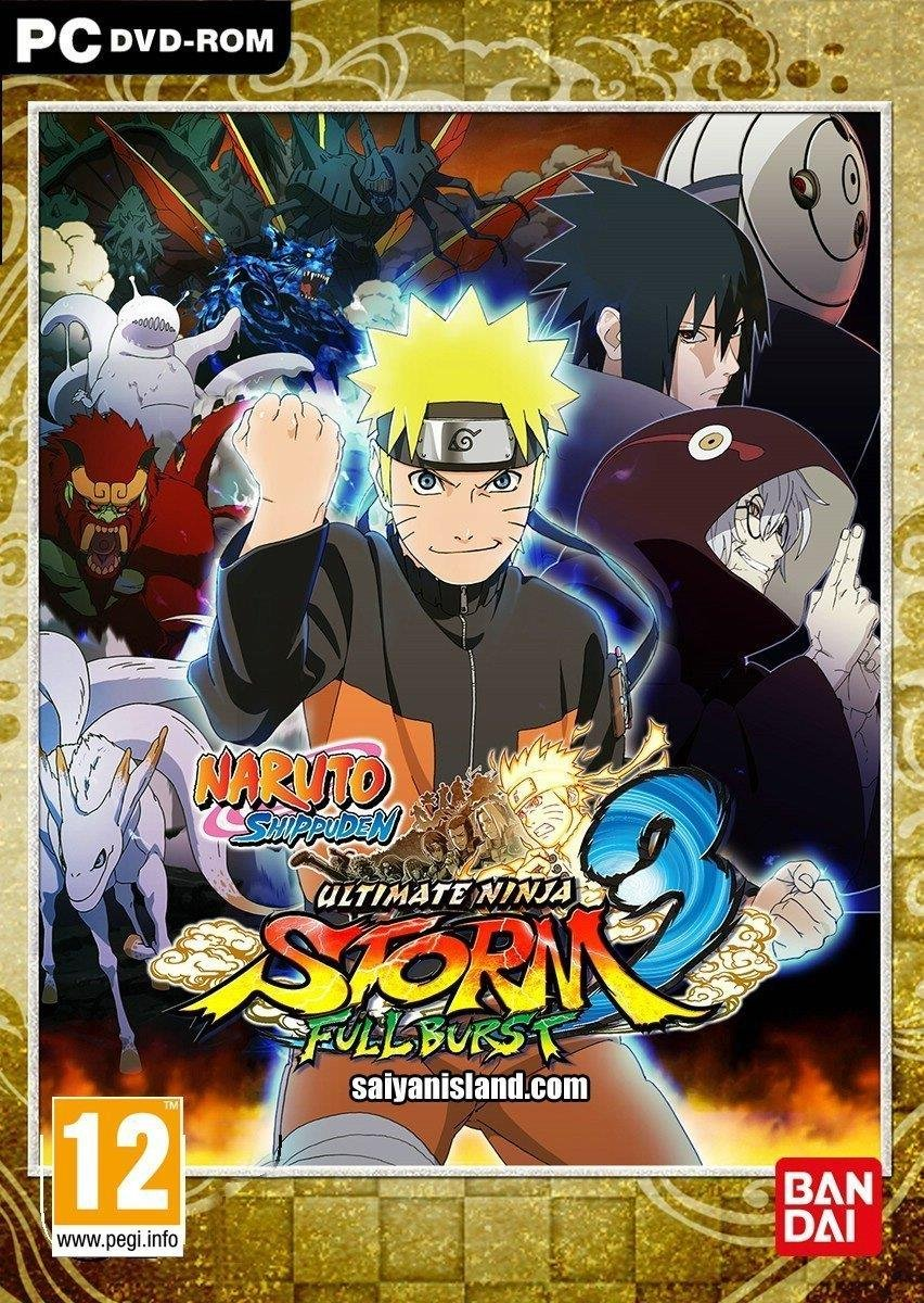 Amazon.com: Naruto Shippuden: Ultimate Ninja Storm 3 Full ...