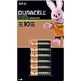 Duracell Duracell Aa Pre-cargadas Con 2 500 Mah, Hasta 100 Recargas, Contiene 1 Paquete Con 6 Unidades, color, 6 count, pack