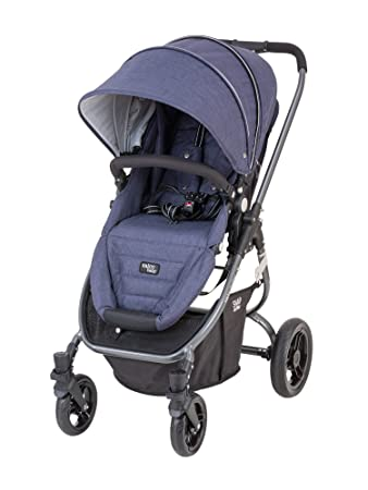 Valco Baby Snap Ultra Lightweight Reversible Stroller Blue Denim