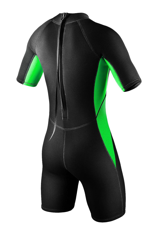 PI-PE Men/´s Neopren Wetsuit Shorty Pure XL/_N Green PNP-1-Gr