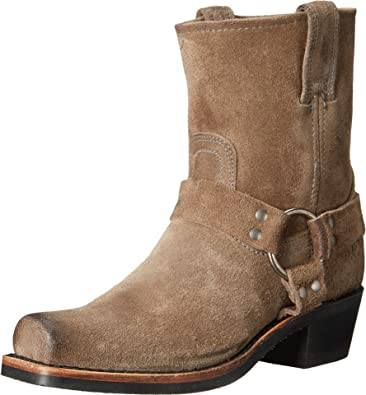 Taupe FRYE Fashion Harness Boots