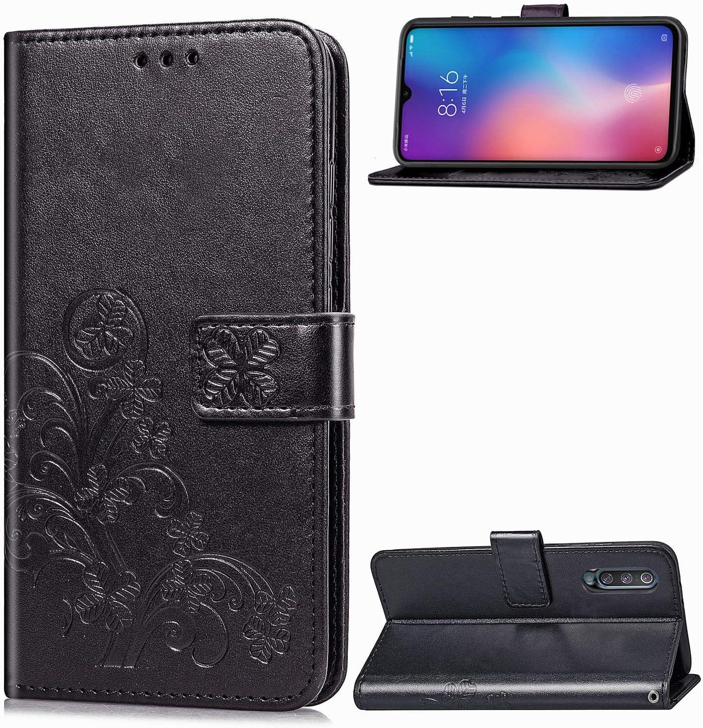LOSDA041697 Blu Lomogo Cover Xiaomi Mi 9 Portafoglio Custodia a Libro Pelle Porta Carte Chiusura Magnetica Antiurto Flip Wallet Case per Xiaomi Mi9