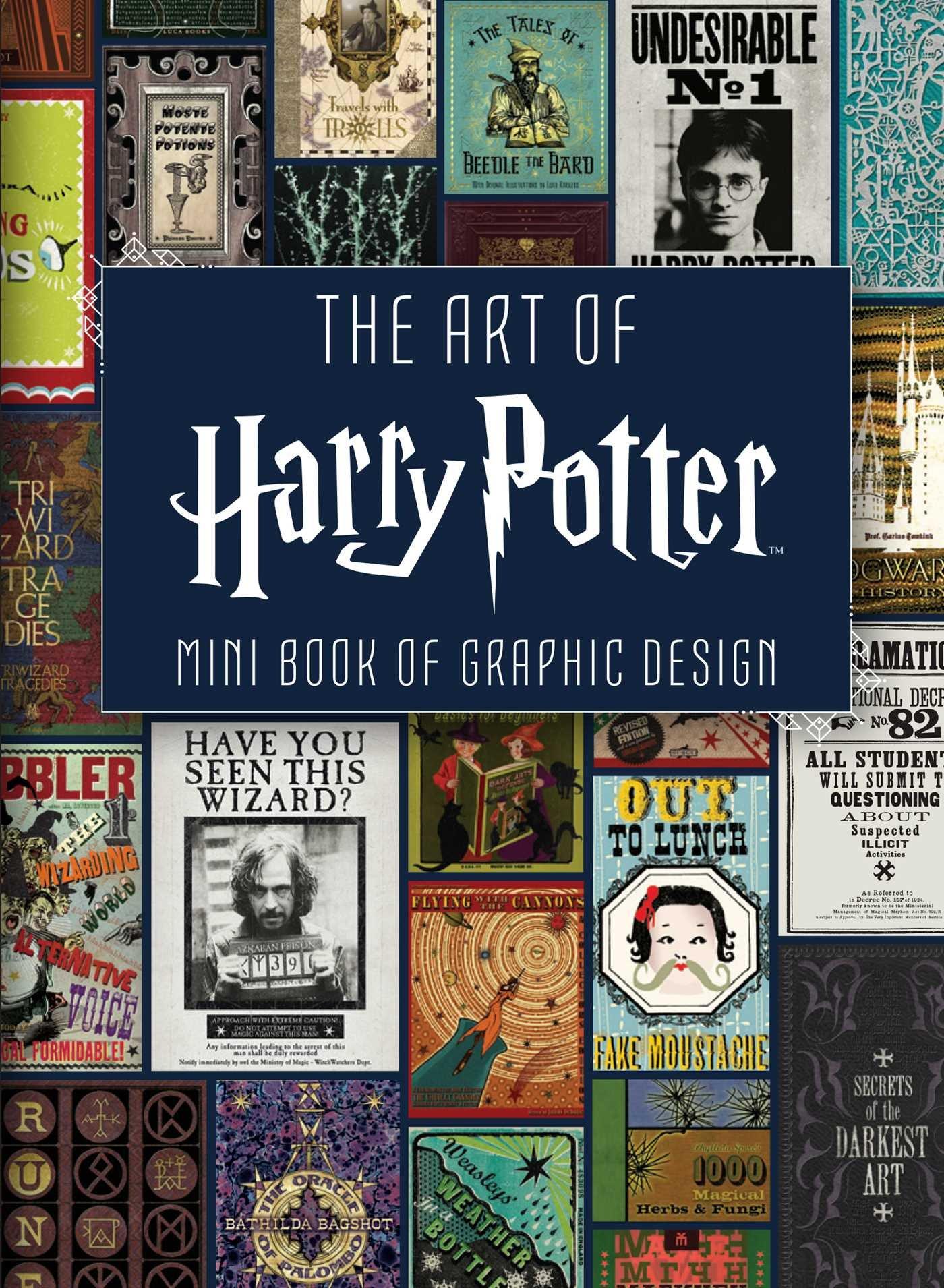The Mini Art Of Harry Potter  Mini Book Of Graphic Design