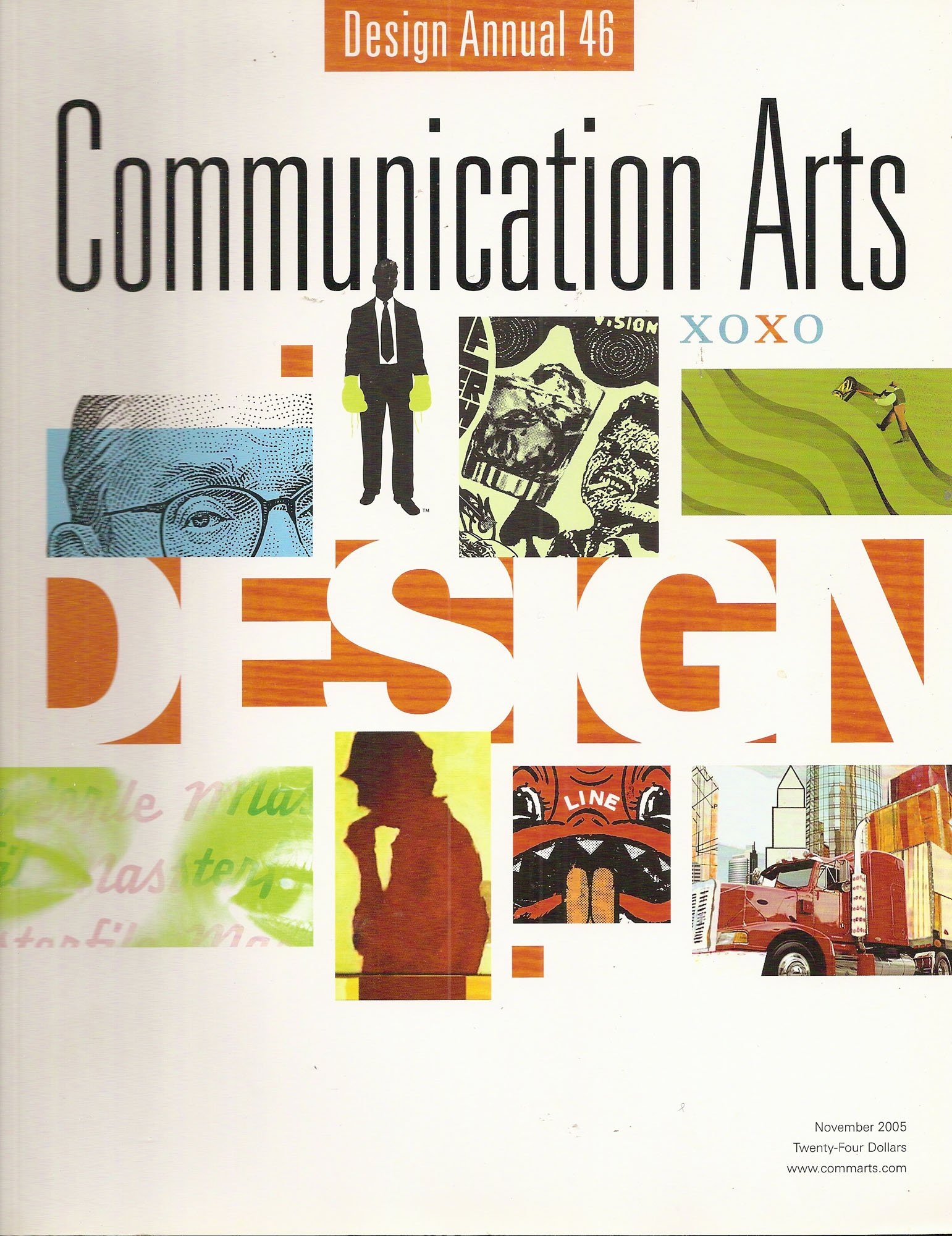 Communication Arts Magazine November 2005 - Design Annual 46 (47) pdf epub