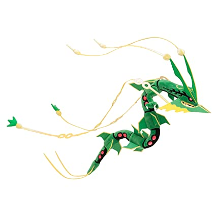 Pokemon Center Original (32-Inch) Poke Plush Stuffed Doll Mega Rayquaza
