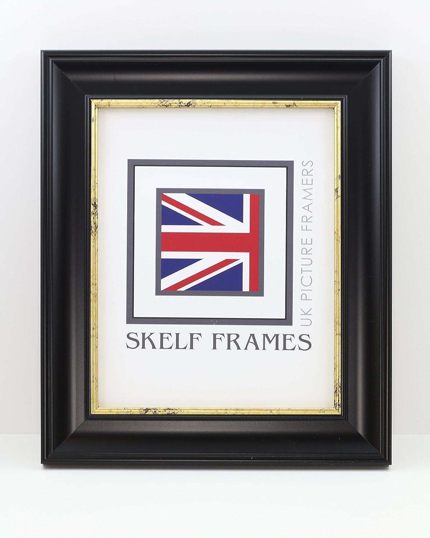Skelf Frames Black & Gold CW Range Picture/Photo Frame (A1) Skelf Frames Ltd