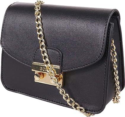 BCBGeneration Lightweight Leather Satchel Shoulder Bag for Women by BCBG