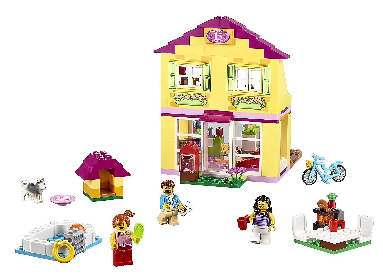 Amazon.com: LEGO Juniors 10686 Family House Building Kit: Toys & Games