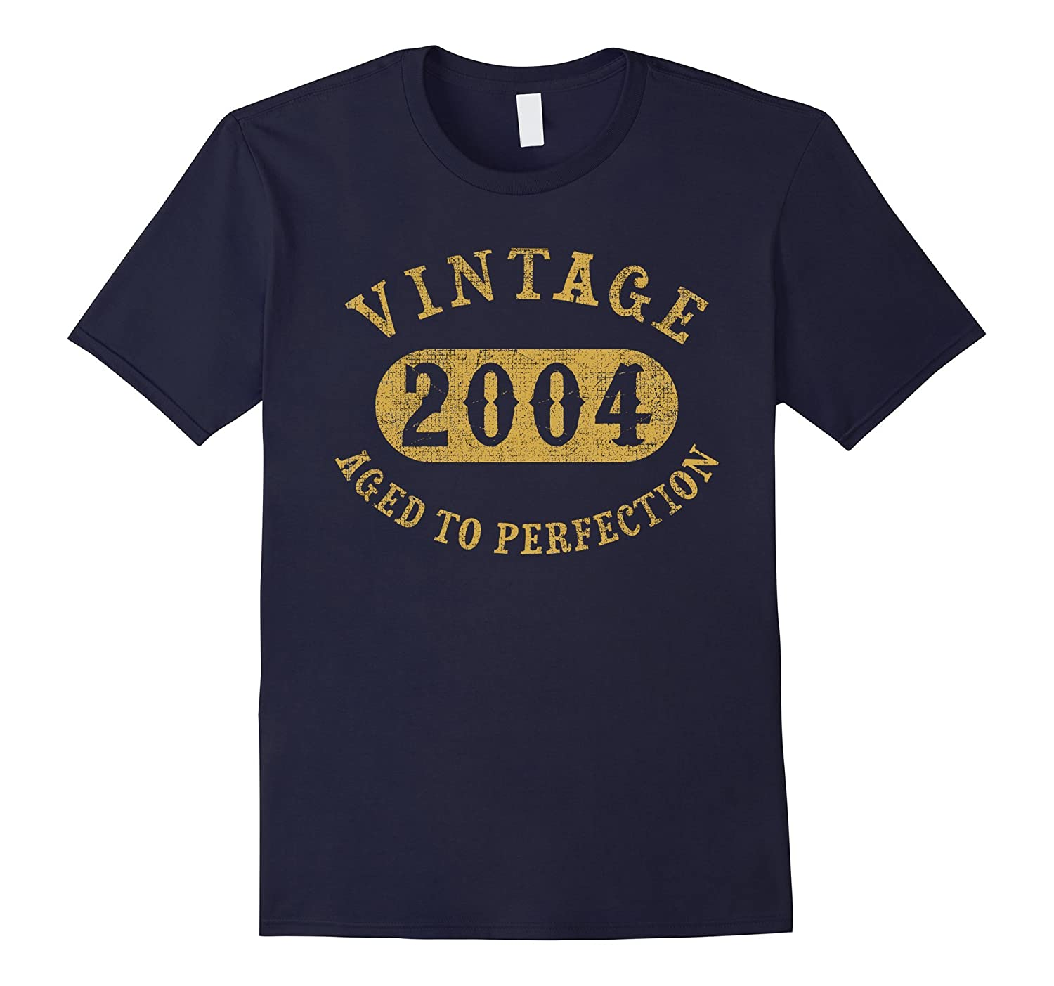13 years old 13th Birthday B-day Gift Vintage 2004 T-Shirt-azvn