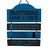 FOCO NFL Carolina Panthers Team Logo Mancave Man