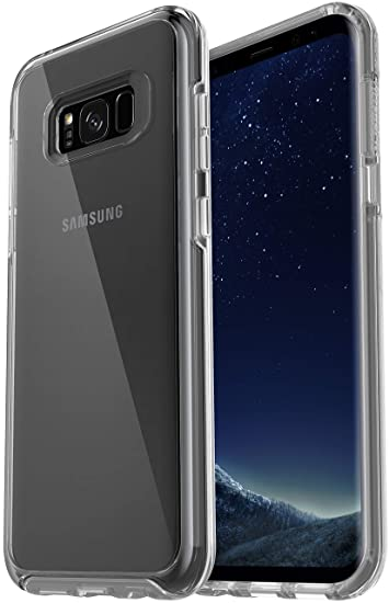 outlet store d7c69 5b9df OtterBox Symmetry Series Slim Case for Samsung Galaxy S8 PLUS - Clear