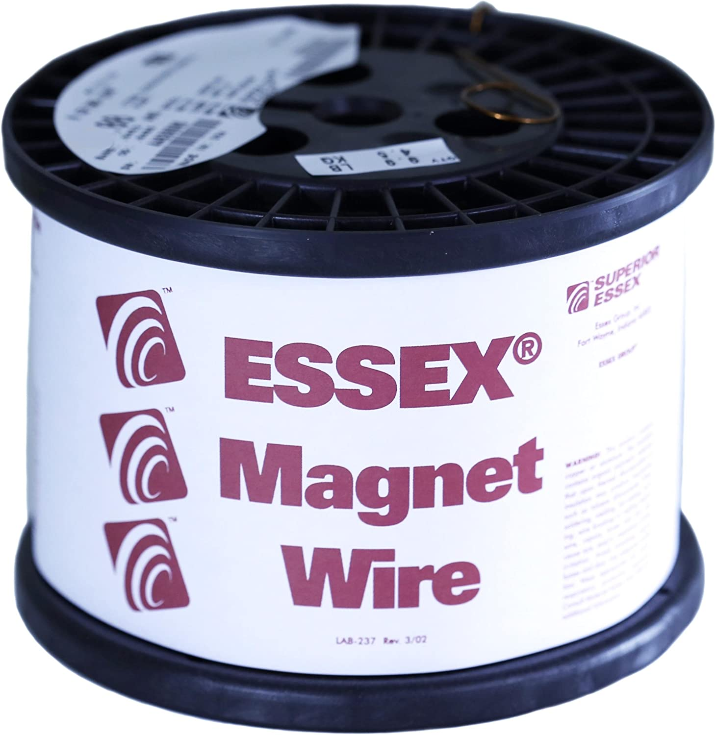 2 oz 42 AWG Heavy Build 6200 Length Enameled Copper Wire Wound 0.0029 Diameter Natural Remington Industries 42HNSP.125 Magnet Wire