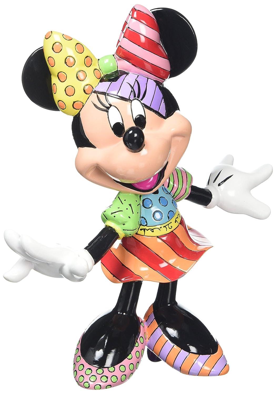 Disney By Romero Britto 4023846 Figurina Minnie in Resina, 20 cm