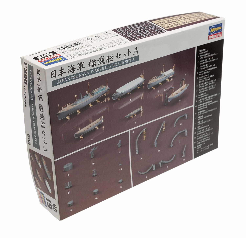 HASEGAWA 72119 1//350 Japanese Navy Warships Boats Set A Ltd Ed