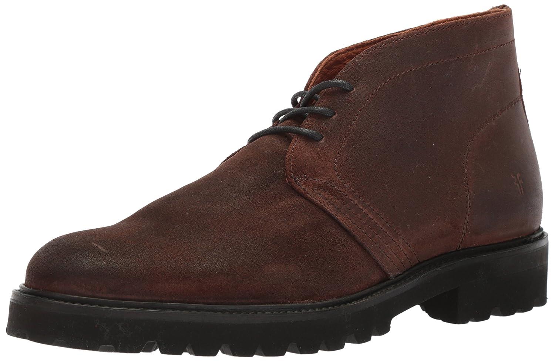 FRYE Men's Edwin Chukka Ankle botasie, marrón, 11 D US -