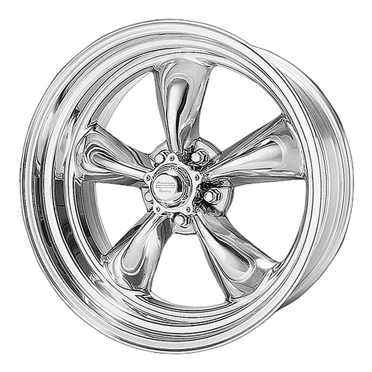 AMERICAN RACING TORQ THRUST II 1 PC POLISHED TORQ THRUST II 1 PC 18x7 5x120.65 POLISHED 6 mm WHEEL RIM