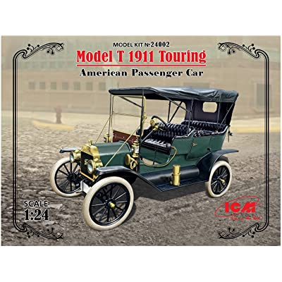 ICM Models Model T 1911 Touring American Passenger Car Model Kit: Toys & Games