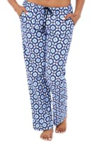 Alexander Del Rossa Womens Flannel Pajama Pants, Long Cotton PJ Bottoms