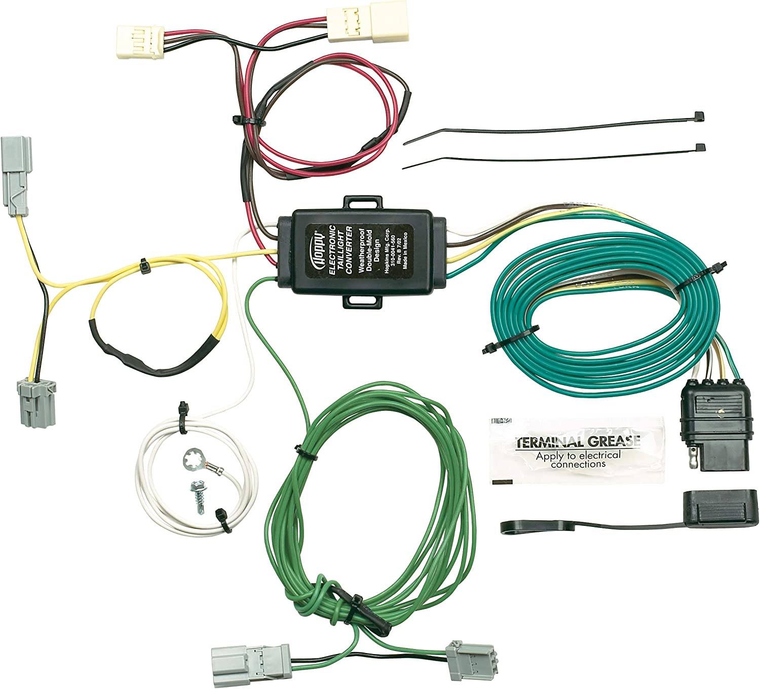 Hopkins 11143175 Plug-in Simple Vehicle to Trailer Wiring Kit