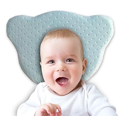 Cuscino Anti Testa Piatta Chicco.Cuscino Per Neonato Anti Testa Piatta Plagiocefalia Schiuma