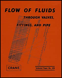 flow of fluids through valves fittings and pipe tp 410 us rh amazon com Crane Engineering Manual Small Manual Crane