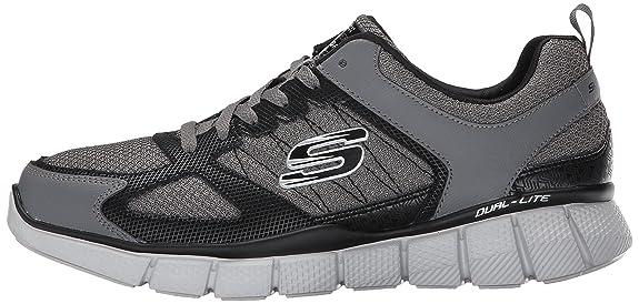 Skechers Equalizer 2.0 On Track 51532 - Charcoal Black, Tamaño:eur 40
