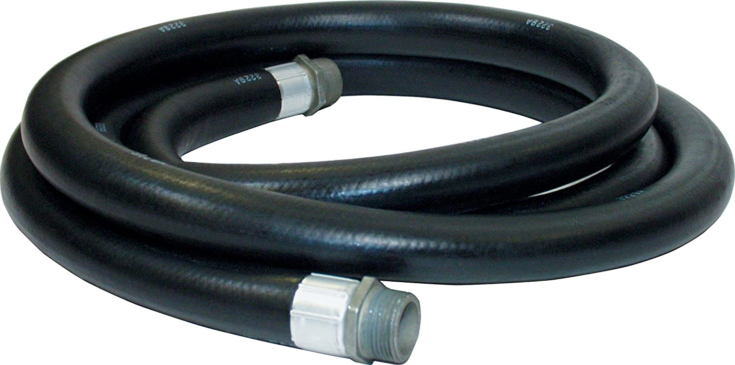 Apache 98108495 1 x 20 Farm Farm Fuel Transfer Hose with Male Pipe Thread Crimped Fittings Roughneck