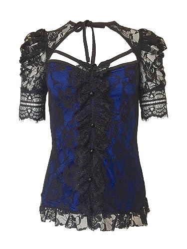 Gothic Rockabilly Camisas - para Mujer