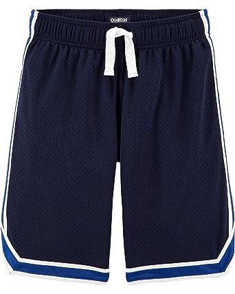 498dfd6fd Osh Kosh Boys' Little Mesh Shorts, Deep Navy/Harbor Blue, ...