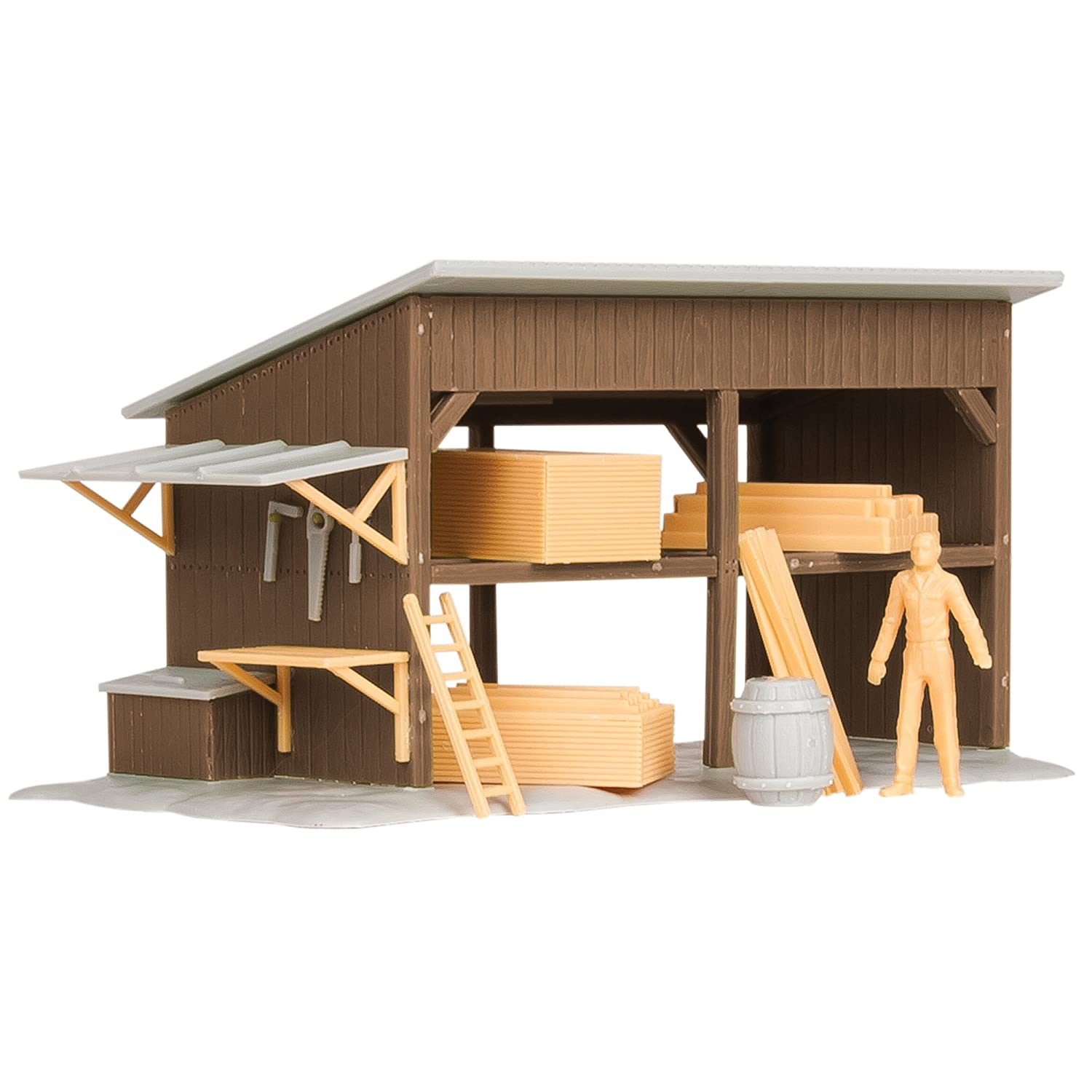 Lionel Electric O Gauge Model Train Accessories, Lumber Shed Kit