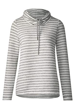 Cecil Damen Pullover 300716, Grau (Mineral Grey Melange