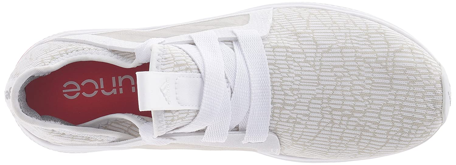 adidas Performance Women's Edge Lux w Running-Shoes B01A68B4SW 9.5 B(M) US|White-crystal White-shock Red