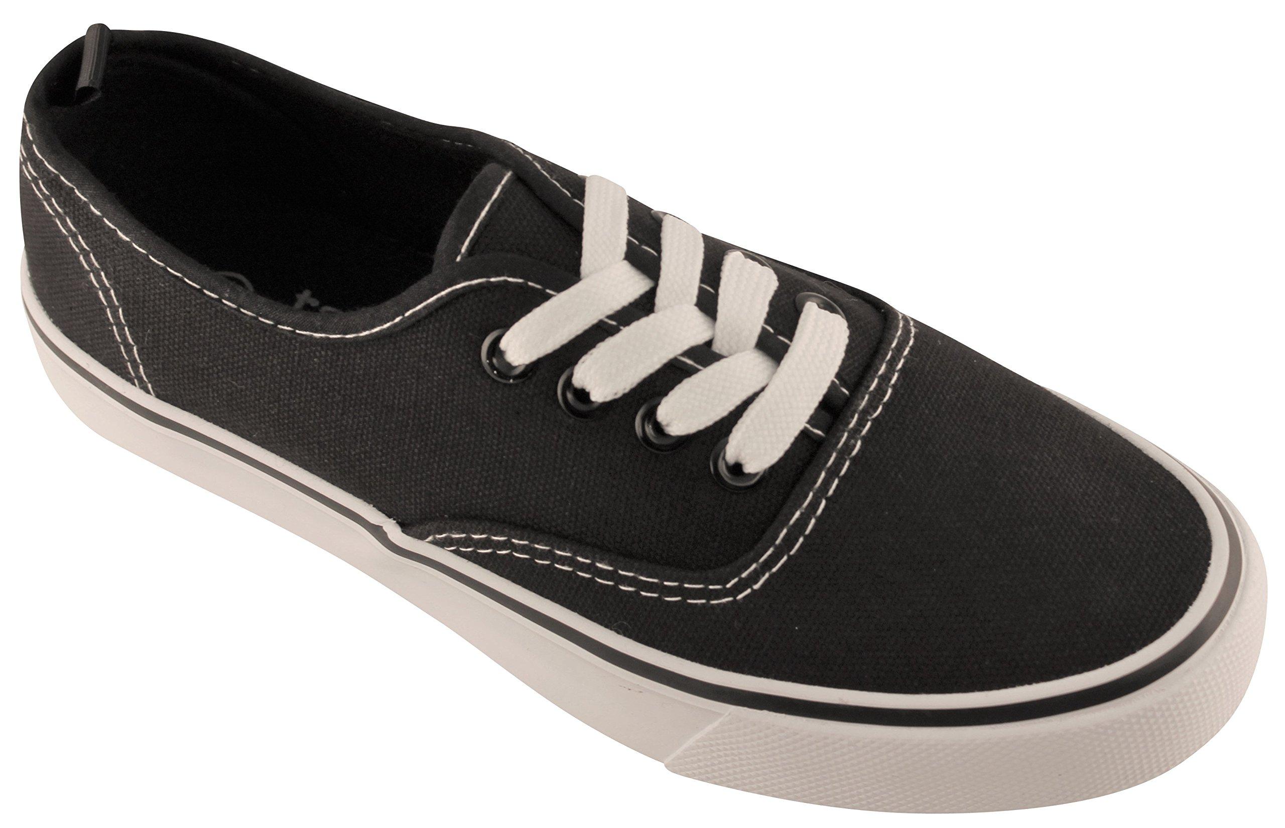 Take A Walk Lace up Women - Many Styles Avail. (6, Black/White)