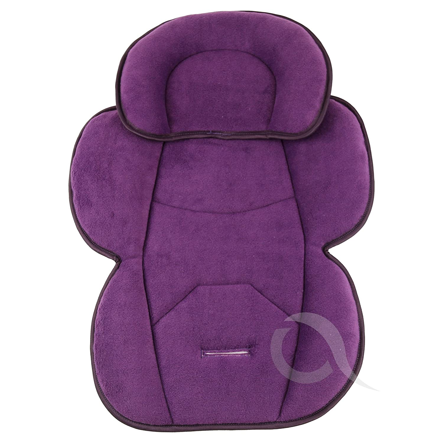 violet OLO BABY Infant Snuzzler Head Hugger /& Full Body Support Liner for Car Seat Buggy Pushchair