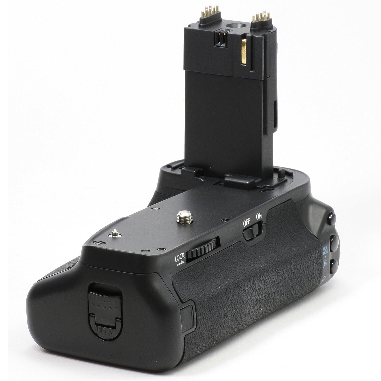 Empu/ñadura de bater/ía para c/ámara de fotos Canon EOS 6D para 2 LP-E6 y 6 pilas AA, similar a BG-E13 Impulsfoto