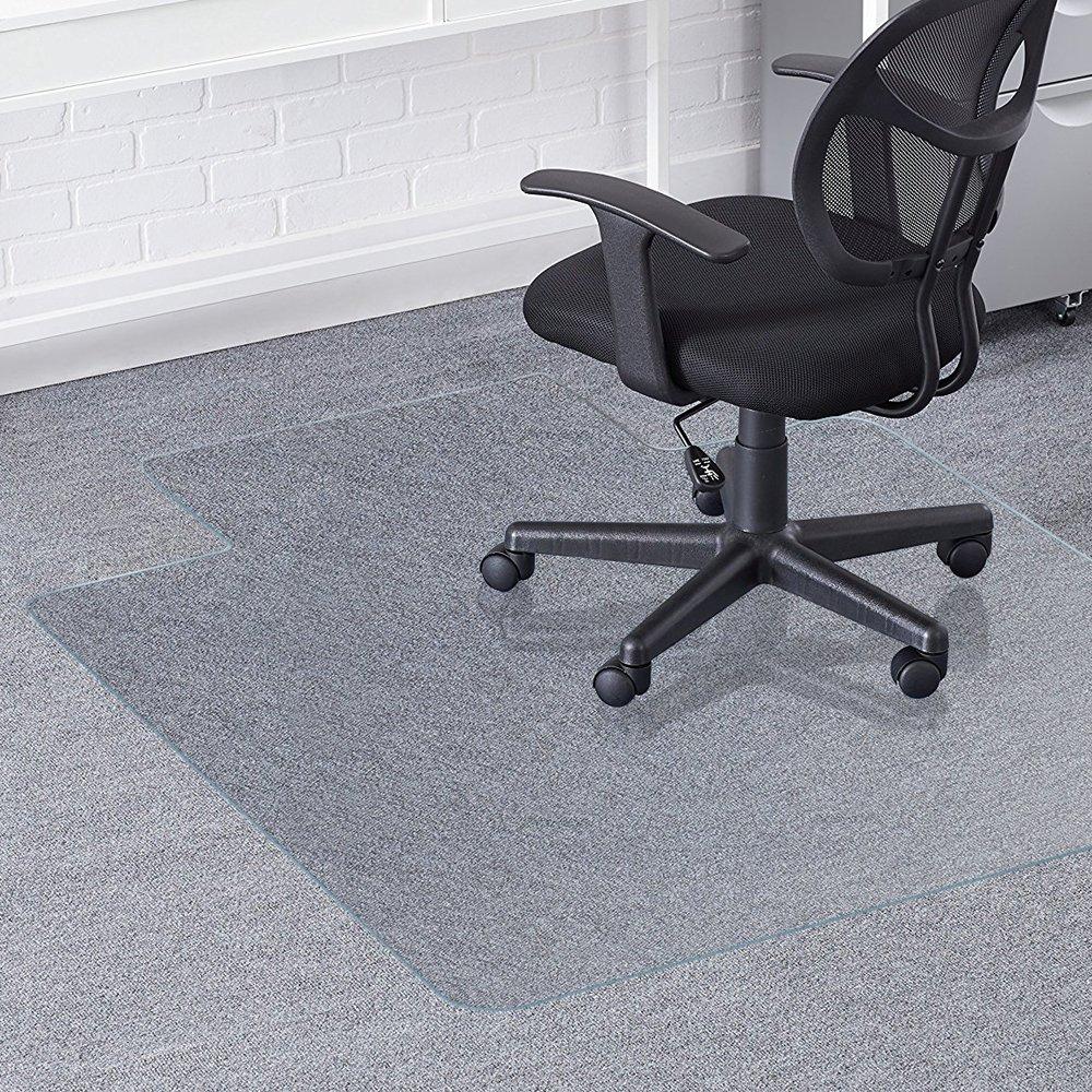 sedia tappetino per pavimenti duri – 120 x 90 cm (48 ' X36) no-recycling materiale, coperchio di protezione del pavimento Greenmall