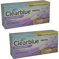 Clearblue Kit De Pruebas De Ovulación Digital–10–unidades