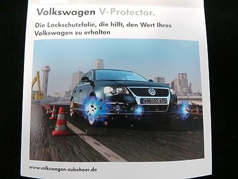 VW Passat 3C original Protector de V Película Protectora Película de protección pintura Paragolpes delantero