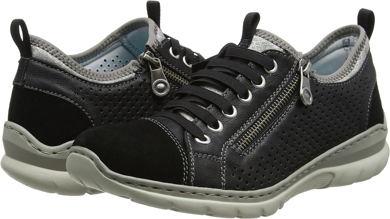 Rieker Damen L3277 01 Sneakers, Schwarz (01), 37 EU: Amazon JDdwT