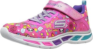 Skechers Litebeams Feelin' It, Chaussures de Running Fille