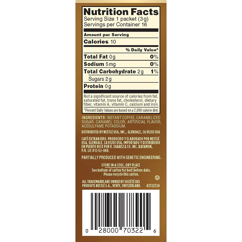 Folgers Instant Coffee Com Nescafe Taster S Choice 16 Piece Hazelnut Beverage Single Serve Sticks 1 69